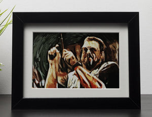 The Big Lebowski Framed Print - Canvas Art Rocks - 1