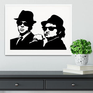 The Blues Brothers Framed Print - Canvas Art Rocks - 5