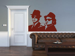 The Blues Brothers Wall Sticker - Canvas Art Rocks