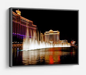 The Caesars Palace Hotel HD Metal Print