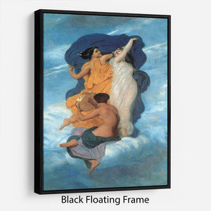 The Dance By Bouguereau Floating Frame Canvas