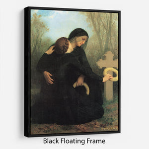 The Day of the Dead By Bouguereau Floating Frame Canvas