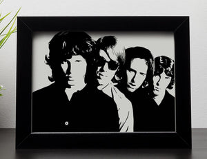 The Doors Framed Print - Canvas Art Rocks - 2