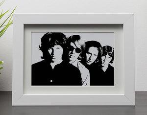 The Doors Framed Print - Canvas Art Rocks - 3