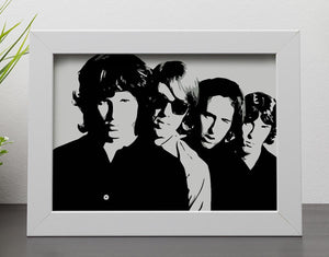 The Doors Framed Print - Canvas Art Rocks - 4