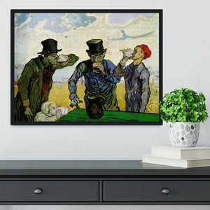 The Drinkers by Van Gogh Framed Print - Canvas Art Rocks - 2
