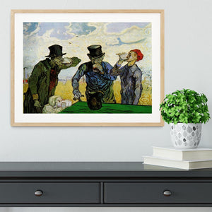 The Drinkers by Van Gogh Framed Print - Canvas Art Rocks - 3