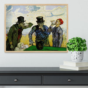 The Drinkers by Van Gogh Framed Print - Canvas Art Rocks - 4