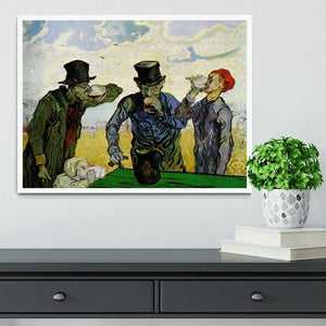 The Drinkers by Van Gogh Framed Print - Canvas Art Rocks -6