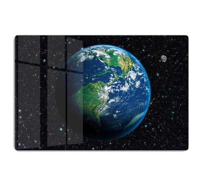 The Earth from space HD Metal Print