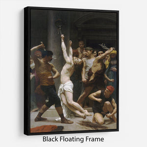 The Flagellation of Our Lord Jesus Christ By Bouguereau Floating Frame Canvas