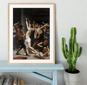 The Flagellation of Our Lord Jesus Christ By Bouguereau Framed Print - Canvas Art Rocks - 3