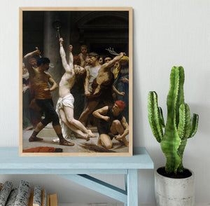 The Flagellation of Our Lord Jesus Christ By Bouguereau Framed Print - Canvas Art Rocks - 4