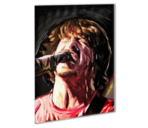 The Foo Fighters Dave Grohl Outdoor Metal Print - Canvas Art Rocks - 1