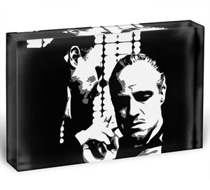The Godfather - A Word With The Don Acrylic Block - Canvas Art Rocks - 1