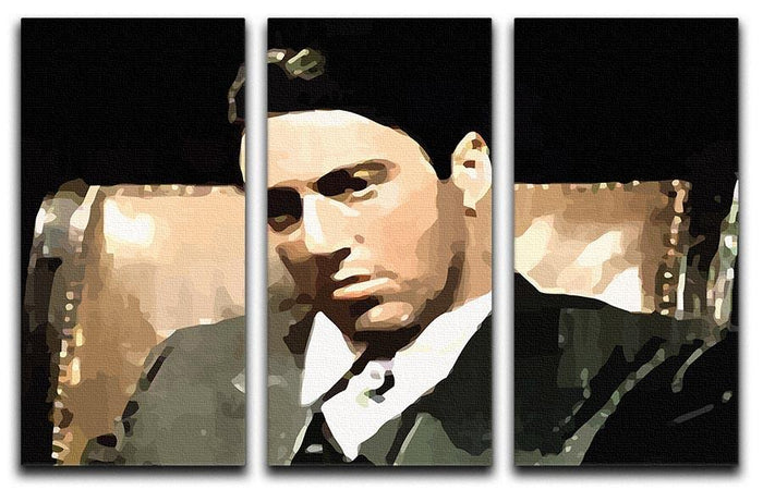 The Godfather Michael Corleone 3 Split Panel Canvas Print