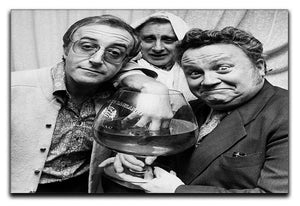 The Goons Peter Sellers Spike Milligan and Harry Secombe Canvas Print or Poster  - Canvas Art Rocks - 1