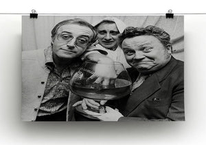 The Goons Peter Sellers Spike Milligan and Harry Secombe Canvas Print or Poster - Canvas Art Rocks - 2