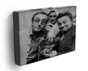The Goons Peter Sellers Spike Milligan and Harry Secombe Canvas Print or Poster - Canvas Art Rocks - 3