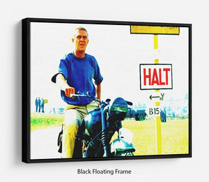 The Great Escape Floating Frame Canvas