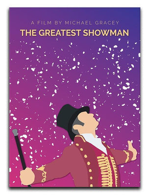 The Greatest Showman Minimal Movie Canvas Print or Poster  - Canvas Art Rocks - 1