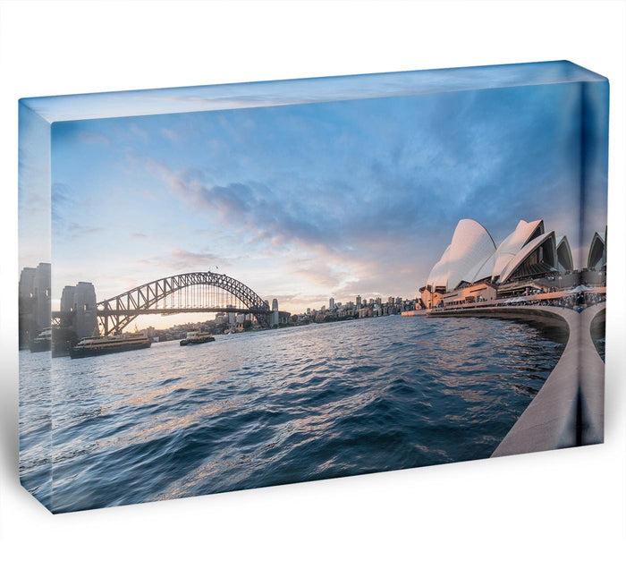The Harbour Bridge Acrylic Block