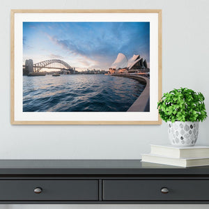 The Harbour Bridge Framed Print - Canvas Art Rocks - 3