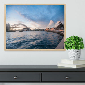 The Harbour Bridge Framed Print - Canvas Art Rocks - 4