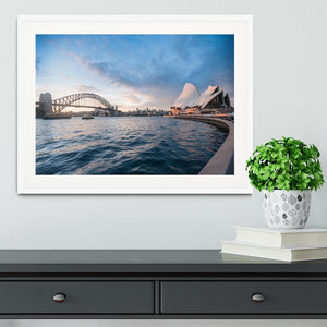 The Harbour Bridge Framed Print - Canvas Art Rocks - 5