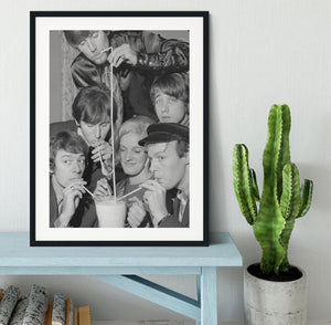 The Hollies pop group Framed Print - Canvas Art Rocks - 1