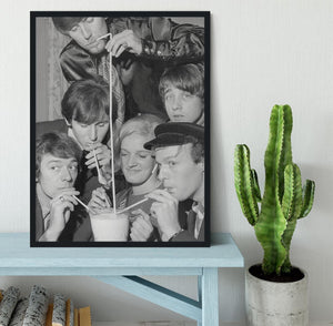 The Hollies pop group Framed Print - Canvas Art Rocks - 2