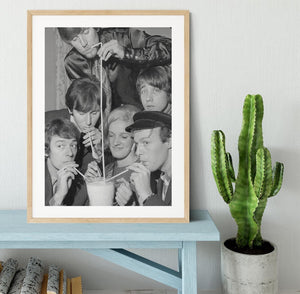 The Hollies pop group Framed Print - Canvas Art Rocks - 3