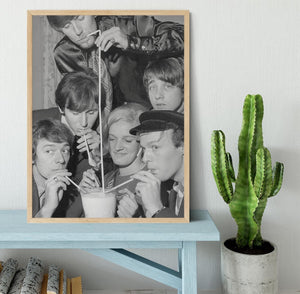The Hollies pop group Framed Print - Canvas Art Rocks - 4
