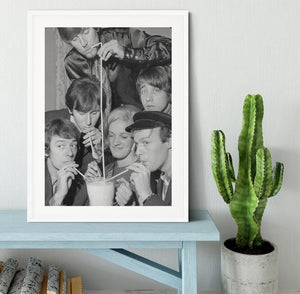 The Hollies pop group Framed Print - Canvas Art Rocks - 5