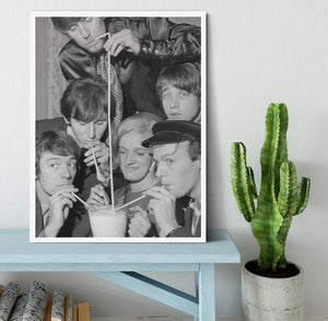 The Hollies pop group Framed Print - Canvas Art Rocks -6