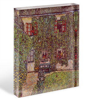 The House of Guard by Klimt Acrylic Block - Canvas Art Rocks - 1