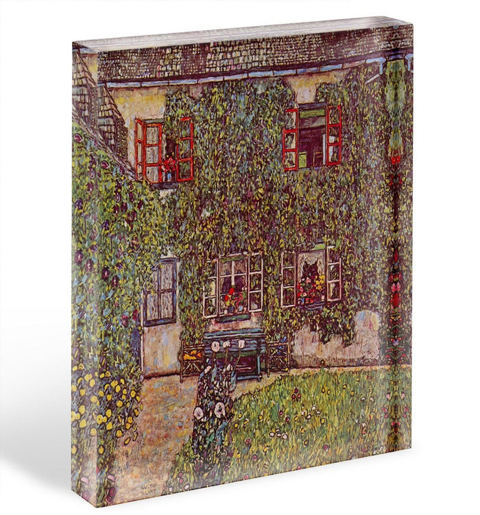 The House of Guard by Klimt Acrylic Block