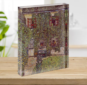 The House of Guard by Klimt Acrylic Block - Canvas Art Rocks - 2