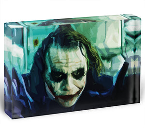 The Joker Acrylic Block - Canvas Art Rocks - 1