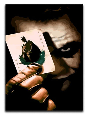 The Joker Batman Print - Canvas Art Rocks - 1