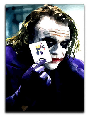 Heath Ledger The Joker Print - Canvas Art Rocks - 1