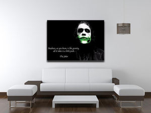 The Joker Madness Canvas Print or Poster - Canvas Art Rocks - 4