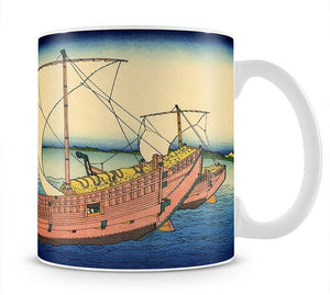 The Kazusa sea route by Hokusai Mug - Canvas Art Rocks - 1