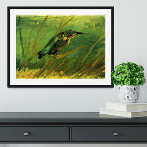 The Kingfisher by Van Gogh Framed Print - Canvas Art Rocks - 1