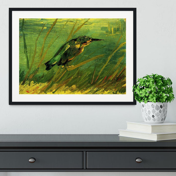 The Kingfisher by Van Gogh Framed Print