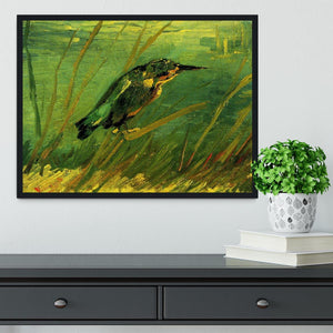 The Kingfisher by Van Gogh Framed Print - Canvas Art Rocks - 2