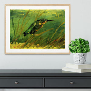 The Kingfisher by Van Gogh Framed Print - Canvas Art Rocks - 3