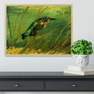 The Kingfisher by Van Gogh Framed Print - Canvas Art Rocks - 4