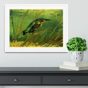 The Kingfisher by Van Gogh Framed Print - Canvas Art Rocks - 5