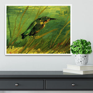 The Kingfisher by Van Gogh Framed Print - Canvas Art Rocks -6